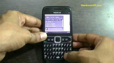 nokia e63 software reset code e63 hard reset how to factory
