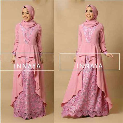 Baju Batik Warna Pink Atasan Remaja Muslim Design Bild