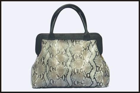 Tas Kulit Hobo Anyam Belly tas sacthel kulit python kombinasi handle dan frame kulit
