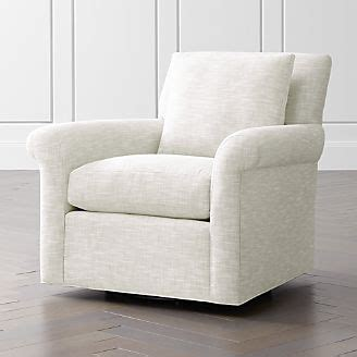 living room chairs accent swivel crate  barrel