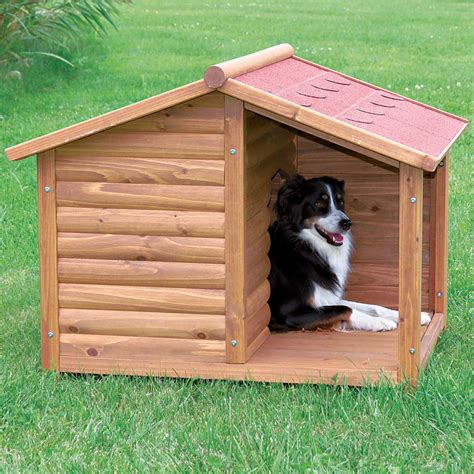 petco dog houses trixie natura log dog house petco
