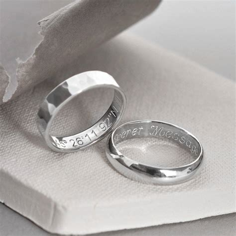 Silver Rings by Sterling Silver Secret Message Ring By Martha Jackson
