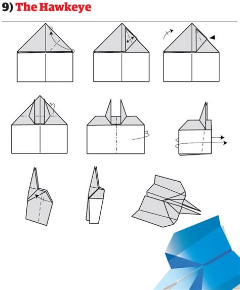 How To Make Really Cool Paper Airplanes - how to build the world s best paper airplanes
