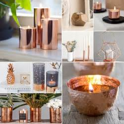 Copper Decorations by Copper Wedding Candles
