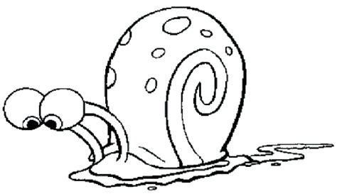 gary from spongebob coloring pages coloring pages