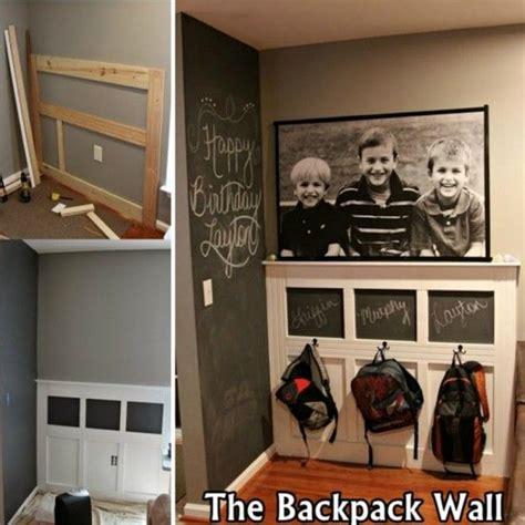 backpack rack for home best 25 backpack wall ideas on pinterest backpack
