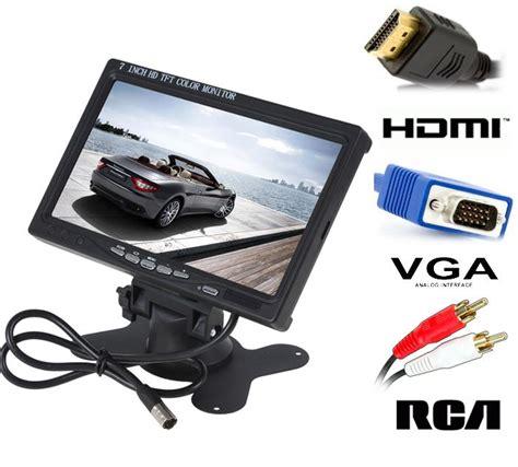 ingressi hdmi monitor lcd 7 a colori con ingressi av hdmi vga audio