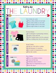 how to wash color clothes i should be mopping the floor free printable laundry chart
