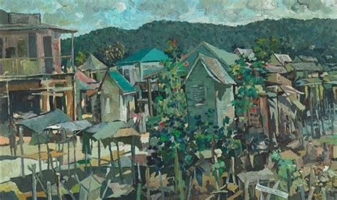 biography of jamaican artist albert huie quiet sunday ocho rios jamaica albert huie wikiart org