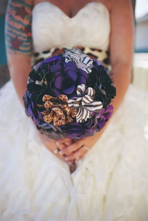 lovely leopard print and motorbike themed wedding 183 rock n roll