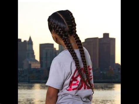 braids two cornrows youtube