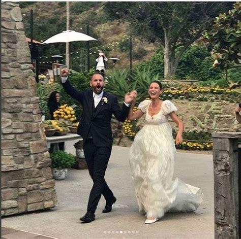 bianca balti foto matrimonio bianca balti le immagini del matrimonio con matthew mcrae
