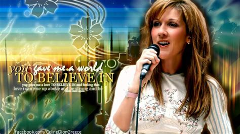 celine dion biography youtube celine dion a world to believe in youtube