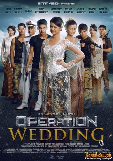 Watak Tokoh Film Operation Wedding | yuki kato lakoni dua adegan stunt di operation wedding