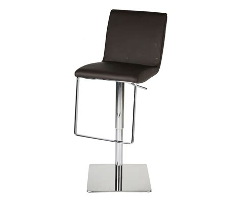 gia adjustable stool white leather contemporary bar gia barstool white faux leather swivel adjustable height