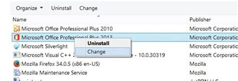 Change Product Key Office 2013 by How To Change Office 2016 2013 Product Key