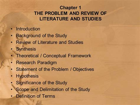Exle Of Research Paper Chapter 1 by 28 Exle Of Scope And Delimitation In Research Paper Chapter 2 Understanding The