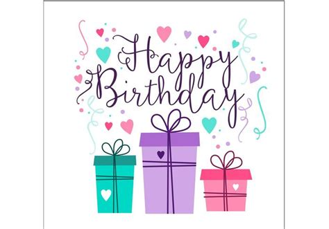 make a free birthday card birthday card design free vector stock