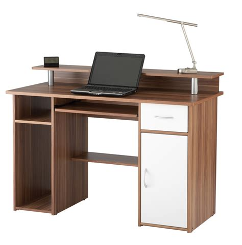 Home Office Computer Workstations Computer Desk 362a Walnut