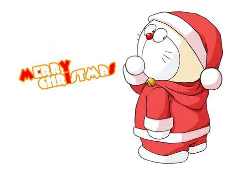 Wallpaper Doraemon Natal | free holiday wallpapers doraemon christmas wallpapers
