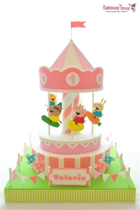 Grosiran Peppa Pig Peppa Pig Carrousel 1000 images about peppa pig cakes on peppa