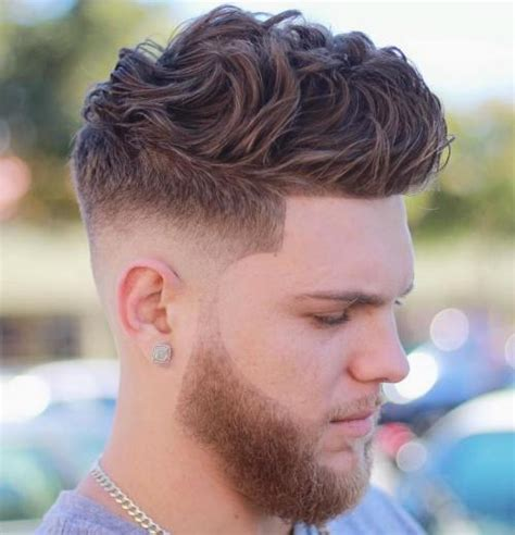 Curly Hairstyles Thick Hair Fade Haircut 100 Cool Hairstyles And Haircuts For Boys And In 2017