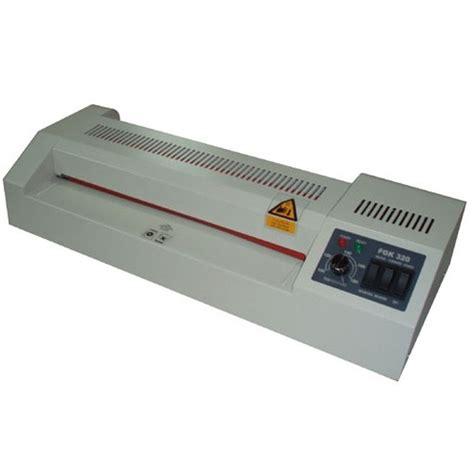 Mesin Laminating Ukuran Folio fgk 330 jual mesin laminating