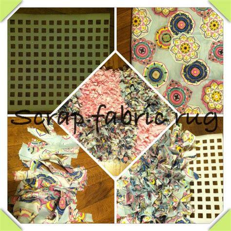 diy fabric rug scrap fabric rug diy diy yo