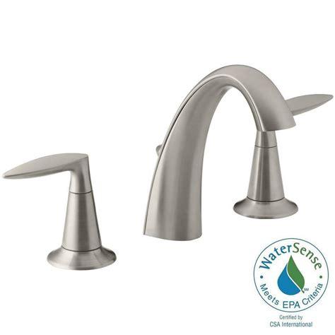 kohler alteo 8 in widespread 2 handle water saving