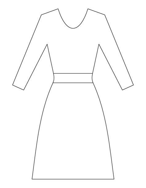 Coloring Page Dress by Free Coloring Pages Of D Is For Dress
