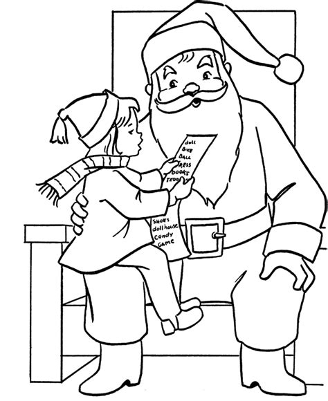 coloring pages letter to santa christmas coloring pages letter to santa claus