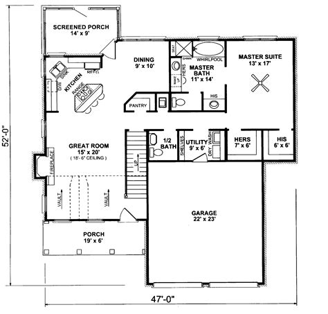 parkcliff country home plan 069d 0015 house plans and more