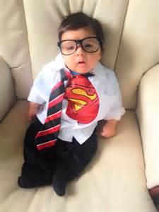 Infant Boy Halloween Costumes Newborn Halloween Costume Idea Clark Kent Superman Glasses From Build A Bear Halloween