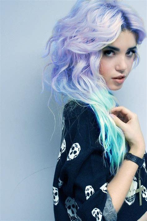pastel hair color zilah inolvina pastel hair dye diy