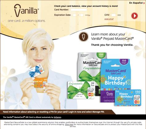 How To Activate A Vanilla Gift Card Online - vanilla mastercard gift card balance checker infocard co