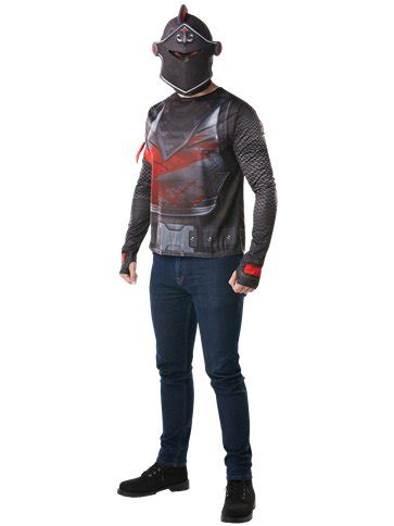 fortnite black knight kit adult costume party delights