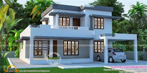 flat house beautiful flat house exterior kerala home design and floor plans