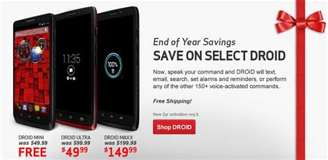 new year promotion smartphone verizon year end promo sees discounts on select android