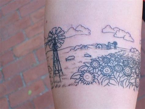 farm tattoo best 25 farm ideas on