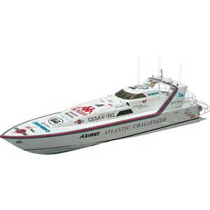 Challenger Lighting Graupner Ship Model Wp Azimut Atlantic Challenger 1310 Mm