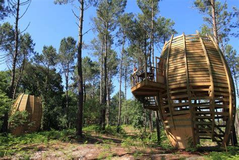 Cabane En L Air by Les 5 Cabanes Les Plus Originales De Mag La