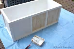 Waterproof Patio Storage Bench Diy Outdoor Storage Box Bench