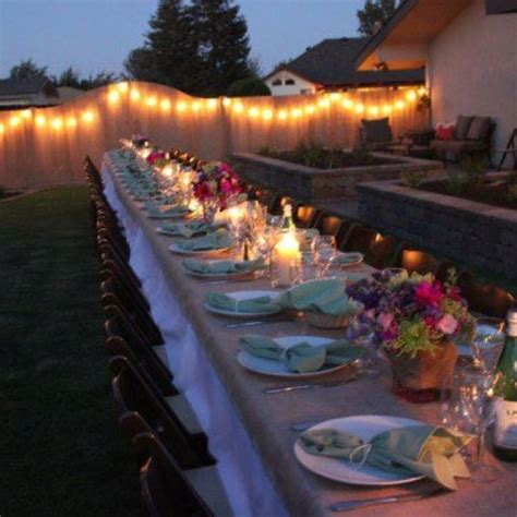 gorgeous outdoor dinner parties