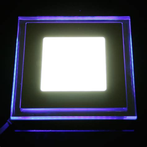 Acrylic Ceiling Light Panels Buy 15w Recessed Square Acrylic Led Panel Ceiling Light Downlight 85 265v Bazaargadgets