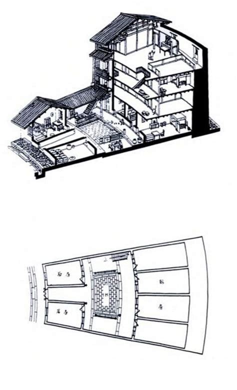 traditional chinese house plans ancient chinese house plan
