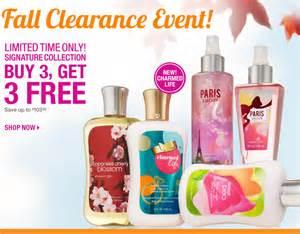 Shower Gel For Bubble Bath shophubusa bath amp body works fall clearance sale extended