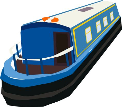 canal boat etiquette a blue english narrow boat by oceanrailroader on deviantart
