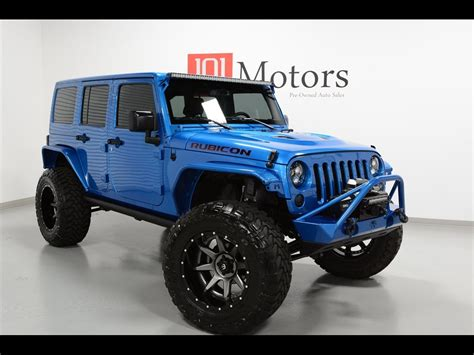 used jeep wrangler rubicon 2015 jeep wrangler unlimited rubicon hardrock for sale in