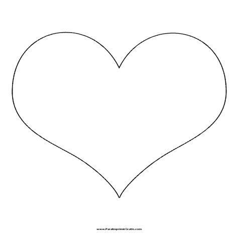 imagenes de corazones hermosos y grandes dibujos de corazones grandes para colorear