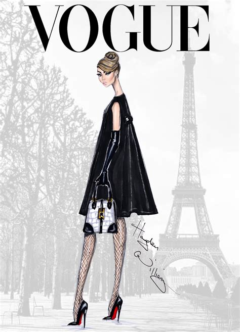 Home Decor Magazines by Vogue Fashion Illustrations By Hayden Williams A Side
